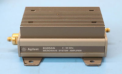 HP/Agilent 83050A 2-50GHz System Amplifier and Power Supply