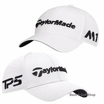 New TaylorMade M1/TP5 Tour Radar Hat Adjustable Mens Golf Hat White