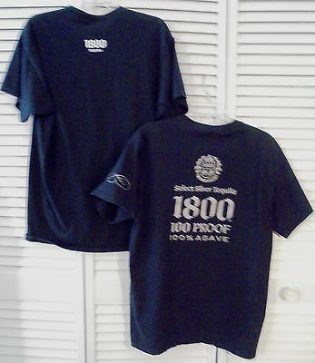 1800 Select Silver Tequila Agave Tee Shirt T Shirts XL Extra Large Jose Cuervo