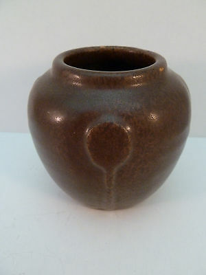 Antique Arequipa Pottery Vase c 1915 California Stamped & Initialed on Bottom