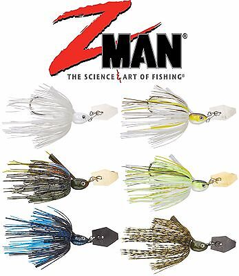 Z Man Project Z Weedless Chatterbait 1/2 Oz. Bass, Walleye, Trout Fishing Lure