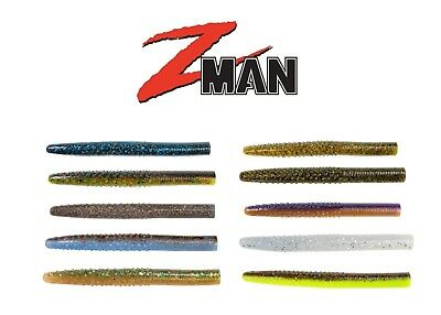 """Z Man Worms - Z Man Finesse Big Trd (The Real Deal) 4"""" 6 Pack - Z Man Soft Bait"""