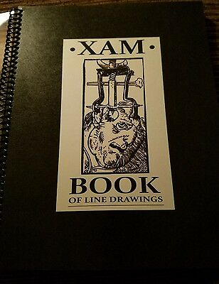 Xam Tattoo sketchbook sketch book flash book line drawings clean traditional neo