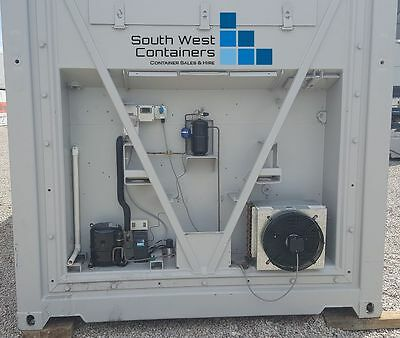 20ft Refrigerated Container Coolroom, Single Phase Power, Brand-New Machinery