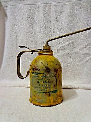VINTAGE EAGLE HYDRAULIC PUMP OILER No. 29 SERIES 16 OZ EAGLE MFG. USA WORKS