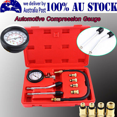 AU Car Compression Gauge Kit Digital Cylinder Pressure Diesel Engine Testing -MQ