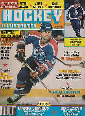 Hockey Illustrated Special February 1986 Oiler legend Paul Coffey on cover