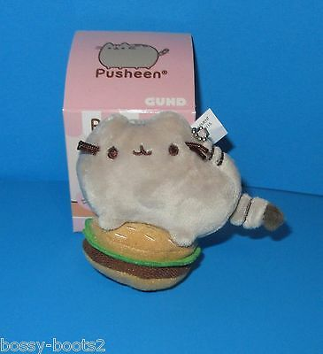 Pusheen Hamburger Surprise Plush Series 1 Snack Time NEW Mini Plush LAST ONE