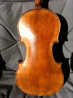 Very old labelled Vintage violin Geige 4/4 by H. Derazey 1863