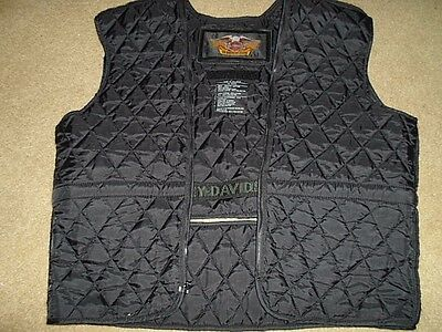 Womens Harley Davidson Zip In Jacket Vest Liner | Size Large, L | Free Shipping