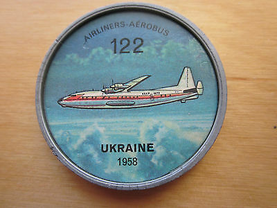 Canadian JELLO, HOSTESS COINS (1960) Aviation Planes Airliners # 122 Ukraine