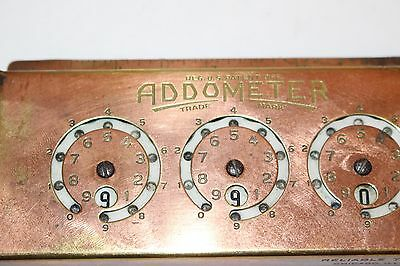 "Vintage ""ADDOMETER"" by Reliable Typewriter, early adding machine, USA"