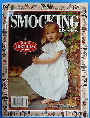 Australian Smocking & Embroidery Special Birthday Issue 29 Winter 1994 1038-2445