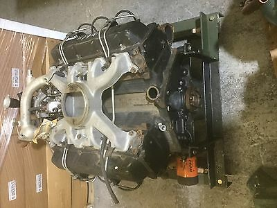6.2 GMC Chevy diesel engine M998 HMMWV used take out 6.2L w/o container