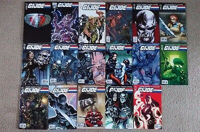 GI Joe 0-16 IDW 17 Issue Comic Book Lot