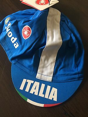 Castelli Road Italy Bike Cycling Cap ONE SIZE FITS MOST