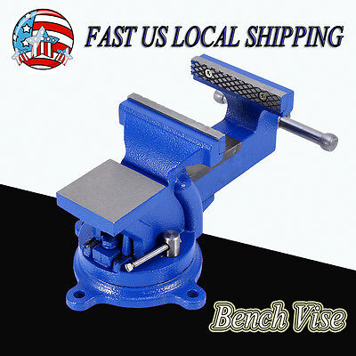 Heavy Duty Bench Vice Vise Clamp Press Locking Home Anvil Base Table Hand Tools