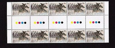 AUSTRALIA 2013 JOINT ISSUE WITH ISRAEL 60c GUTTER BLK OF 10 MNH