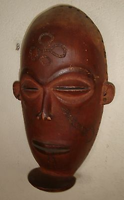 Rare Antique Chokwe African Initiation Mask Collected In 1908 By Aunt Authentic