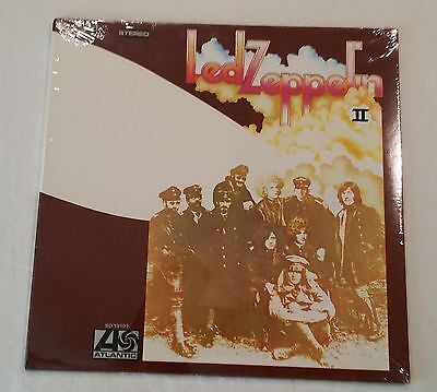 Vintage LED ZEPPELIN II 2 Two 2nd Factory Sealed Album LP Record Jimmy Page