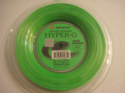 Solinco Hyper-G 200m 1.25mm tennis string reel