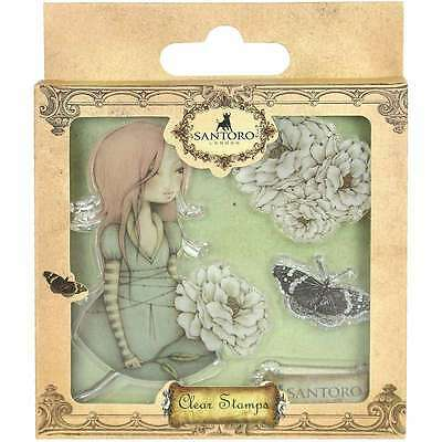 Santoro Mirabelle 3 Clear Stamps Waiting 499993718182