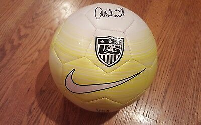 Abby Wambach Signed NikeTeam USA Soccer Ball w/COA 2012 FIFA Player of the year