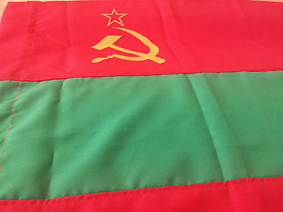 SALE Transnistria Flag Banner History Moldova USSR Hammer Sickle Star Only Very