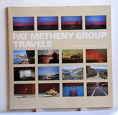 "2 LP 12"" Pat Metheny Group Travels ECM REC. M-"