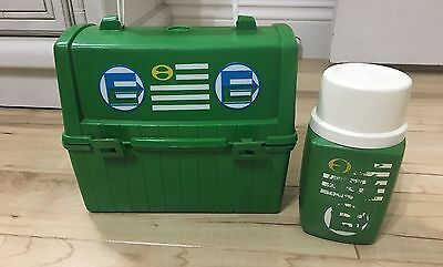 Vintage King Seeley Thermos Division Matching Lunchbox And 8 Oz Thermos 28A53