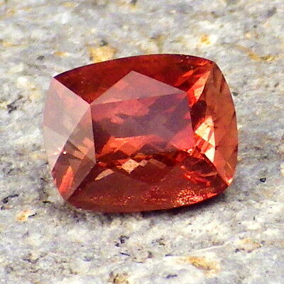 RED SCHILLER OREGON SUNSTONE 1.11CtFLAWLESS-FROM PANA MINE-FOR BEAUTIFUL JEWELRY