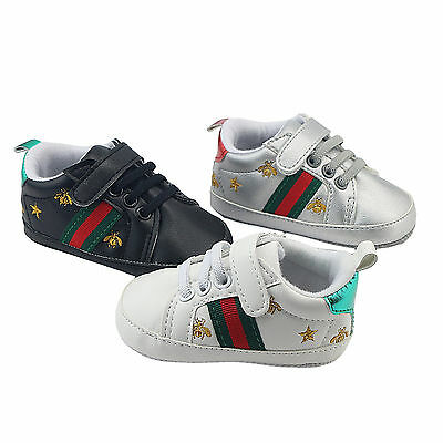 3C Infant Baby Boy Girl Sneakers Soft Sole Crib Shoes Newborn to 12 Months New
