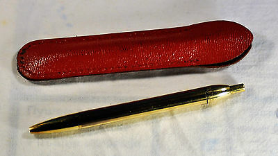 """Waterman"" Flair-Lady  Vintage French Gold filled  Ball point Pen Circa 1957's"