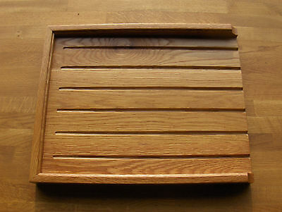 SALE 1 ONLY solid oak draining board /belfast /butler sink drainer