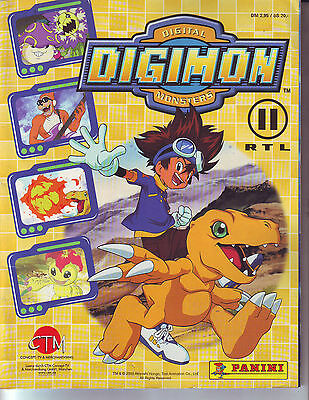Complete Album With All Stickers Digimon Digital Monsters Panini + Poster