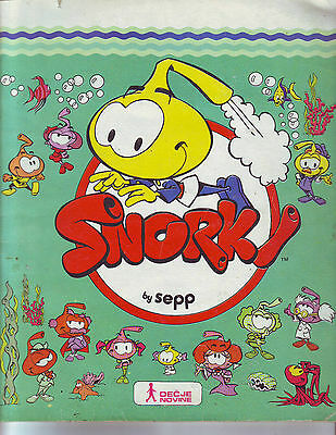Complete Album With All Stickers Snorky - Panini