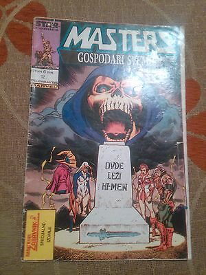 Masters Of The Universe Mattel - Star Comics -Rare Exyu Comic Politikin Zabavnik