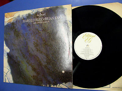 Lp Harold Budd Brian Eno With Daniel Lanois ‎The Pearl Editions EG ‎1984 England