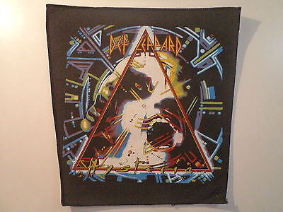Vintage DEF LEPPARD  80s Unused BACK PATCH heavy metal ratt metallica lp t shirt