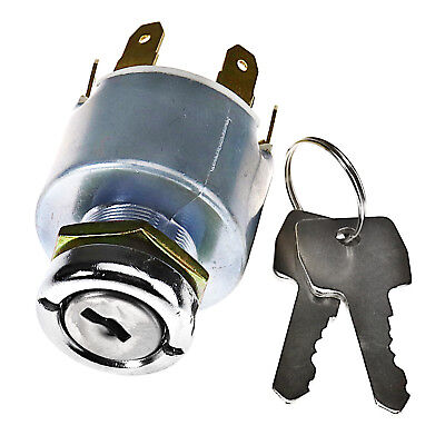 Universal 12V Car Motorbike Boat Ignition Key Switch Barrel Kit For Lucas SPB501