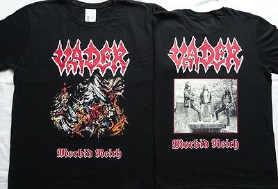 "VADER OFFICIAL ""MORBID REICH"" Demo T-SHIRT ABSOLUTELY UNIQUE Strict limit CULT !"