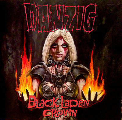 Danzig - Black Laden Crown (Yellow Vinyl - Limited Edition)
