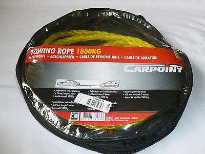 Carpoint Car Tow Rope 1800Kg New In Packet