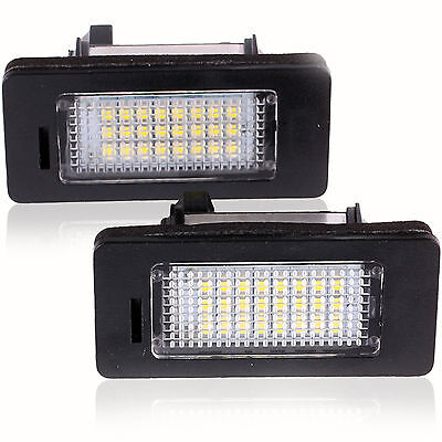 LED Can Bus License Licence Number Plate Light Lamp fit BMW 3 Series E46 CSL