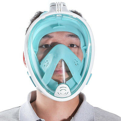 Full Face Scuba Diving Mask Snorkel Swimming Goggles Breathing Underwater Tools!