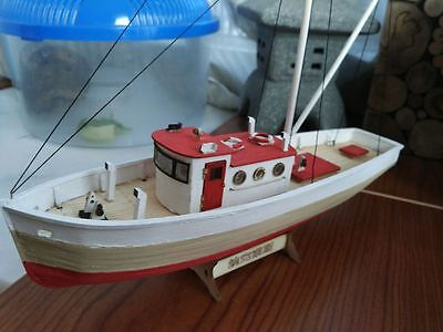 Hobby ship wooden model kits Scale 1/66 NAXOS fishing boat wooden model