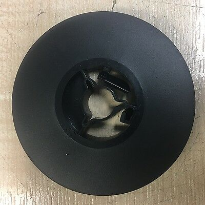 8mm 50ft Cine Film 3 inch Black Reel/ Spool In Good Condition