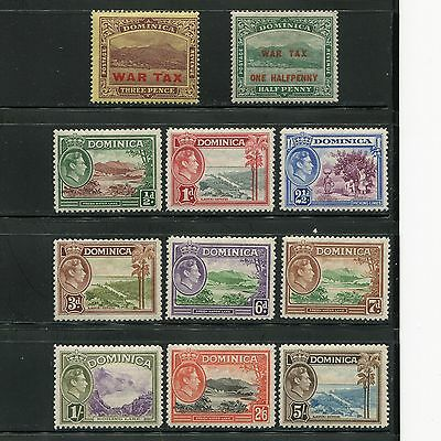 Dominica 1918-38 War Tax King River Lake MLH SCV $31