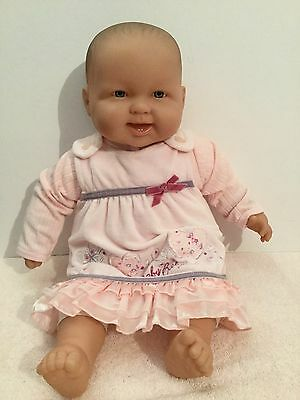 Berenguer XL Very Realistic Baby Doll 50cm Tall Silver Eyes Excell. Cond.