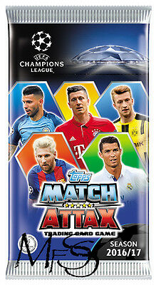 Match Attax x 50 UEFA Champions League 2016/2017 50 Booster Box * Brand New *